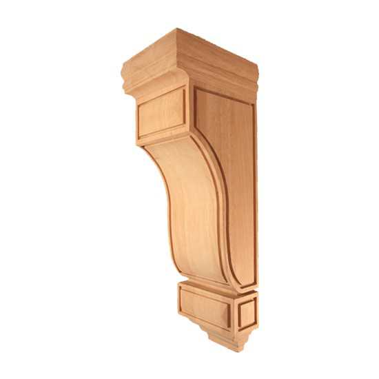 Medium Mission Corbel Alder 5-1/4 x 7 x 14
