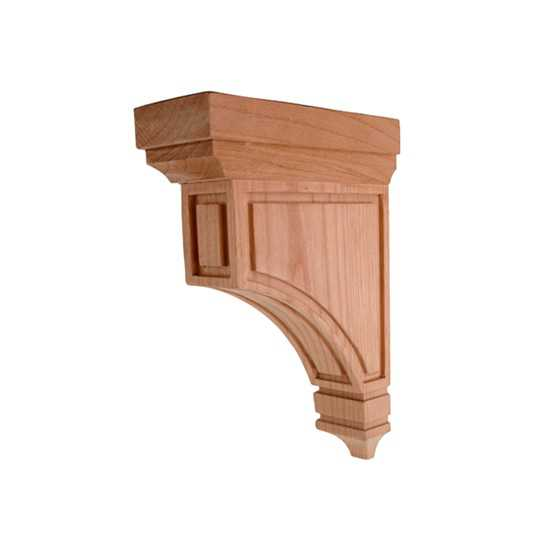 Small Mission Corbel Cherry 2 x 5 x 8
