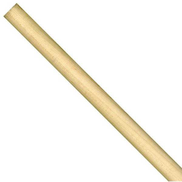 Cindoco 36010290 Dowel Rod Hardwood 48' X 1/2' Color Coded White -Pack Of 5