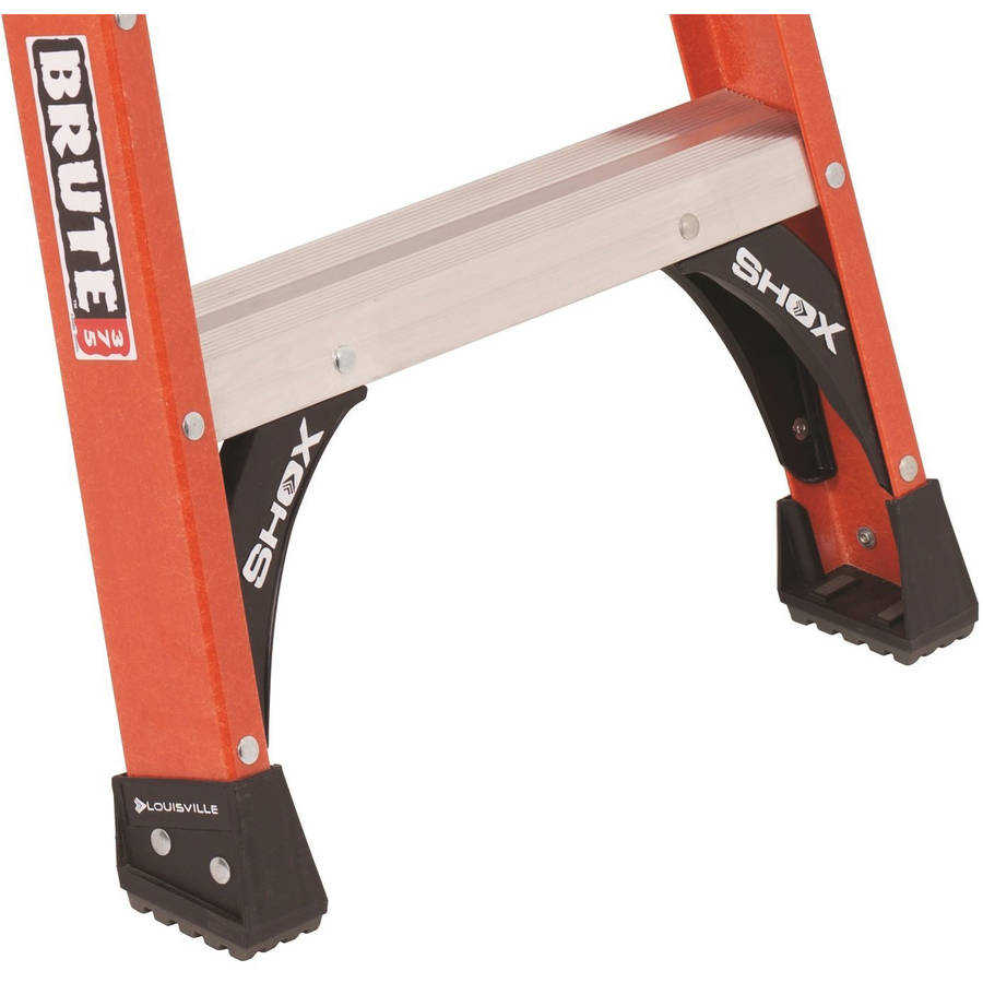 Louisville Ladder FP1412HD 12 ft. Fiberglass Platform Step Ladder, Type IAA, 375 Lbs Load Capacity