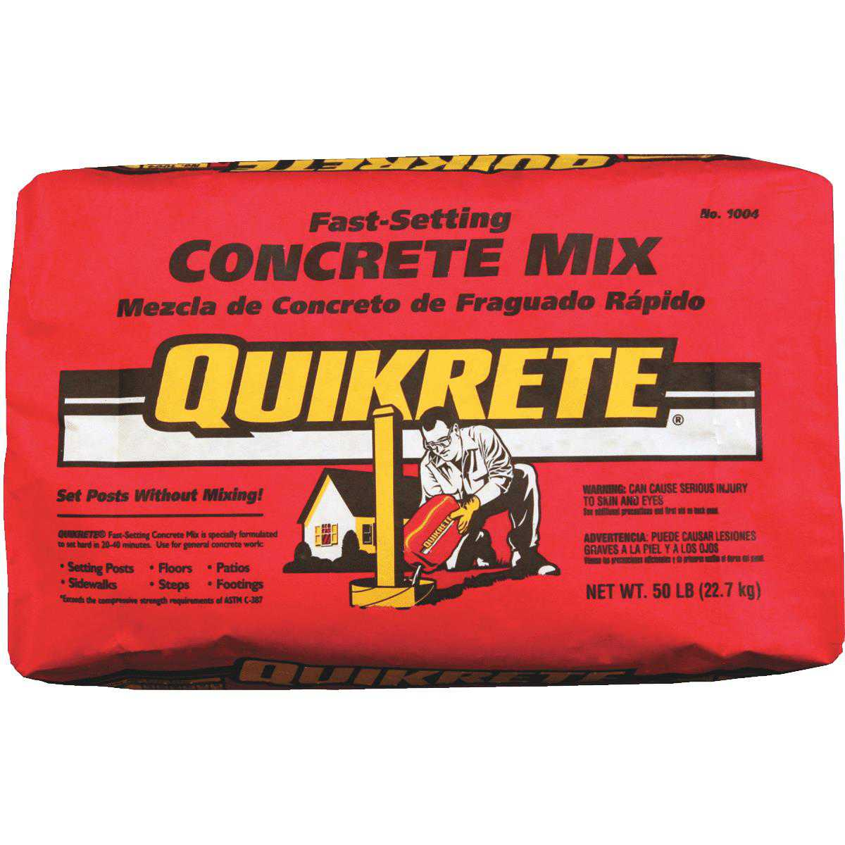 Quickrete Fast-Setting Concrete Mix