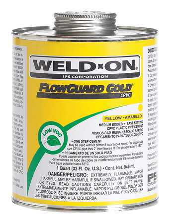 Medium Bodied Pipe Cement, Weld-On, 13984