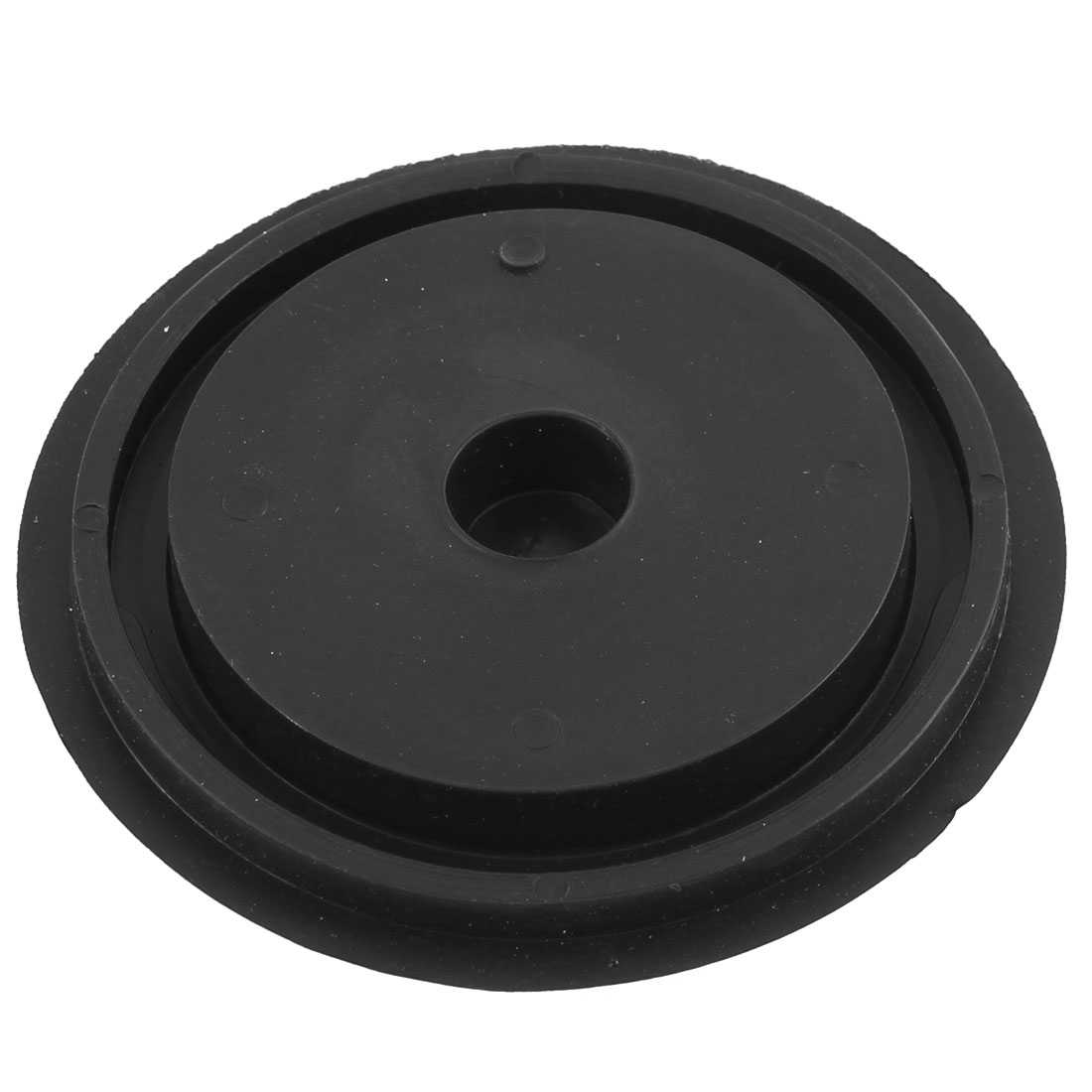 Unique Bargains Black Rubber Basin Water Sink Disposal Stopper Blocker for Bathroom Kitchen for Home Essential