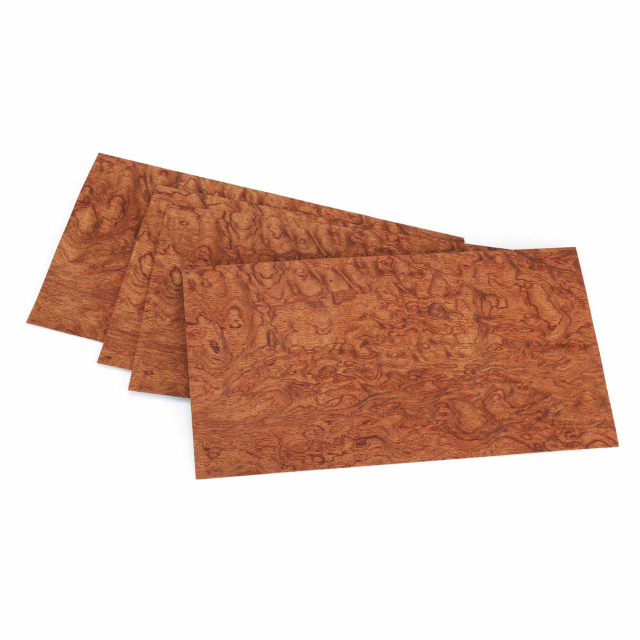Bubinga, Waterfall Veneer 3 sq ft pack