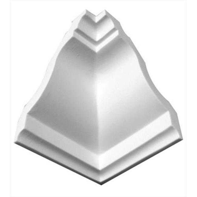 American Pro Decor 5APD10135 5.31 in. Plain Inside Corner For Crown Moulding