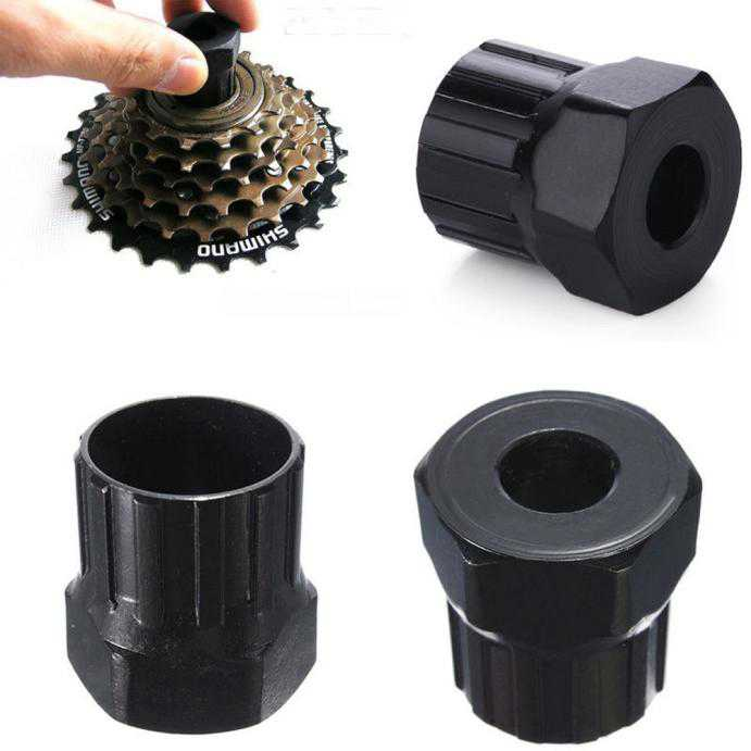 DZT1968 2PCBike Bicycle Cassette Flywheel Freewheel Lockring Remover Removal Repair Tool