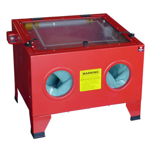 Tooluxe Portable Abrasive Sand Blasting Bench Top Blaster Blast Large Cabinet