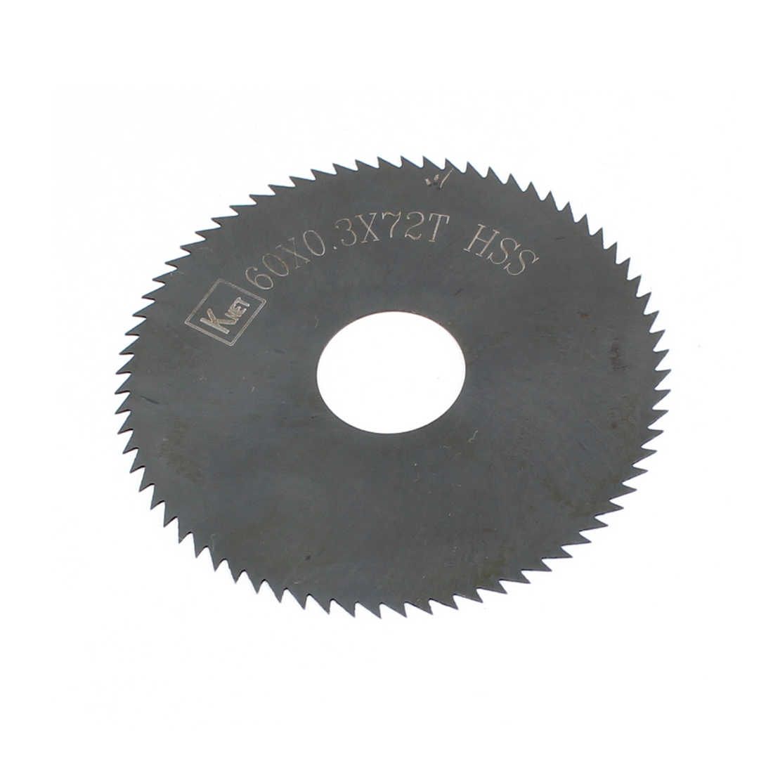 Unique Bargains HSS 72 Teeth 60mm x 0.3mm x 16mm Slitting Saw Cutting Tool