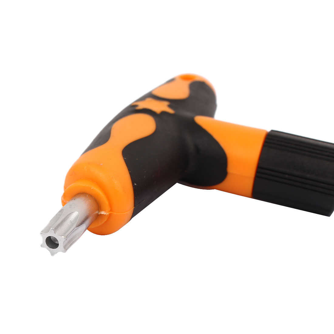 Unique Bargains T45 T-Handle Torx Security Torque Star Key CR-V Alloy Steel Screwdriver Wrench