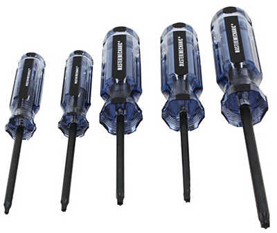 Screwdriver Set, Torx, 5 Pc., Pratt-Read, 167488