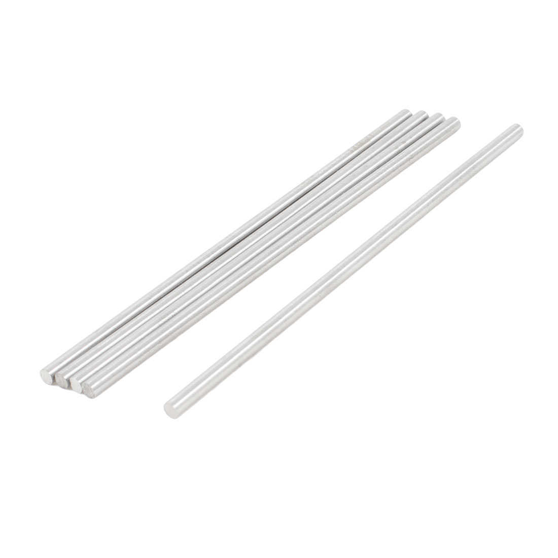 Unique Bargains 5 x High Speed Steel Round Turning Lathe Bars 3mm x 100mm