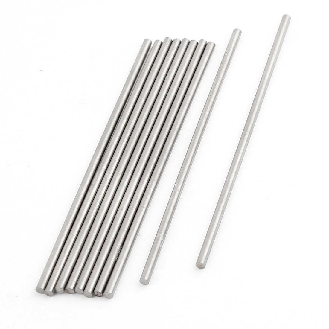 Unique Bargains 10 Pcs 2.7mmx100mm HSS High Speed Steel Turning Carbide Bars for CNC Lathe