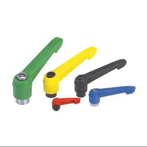 KIPP 06600-30886 Adjustable Handles,M8,Green