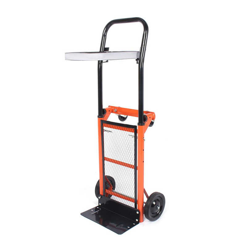 80 kg/176lbs Stair Climber Hand Truck Dolly Heavy Duty Foldable Platform Hand Truck Cart