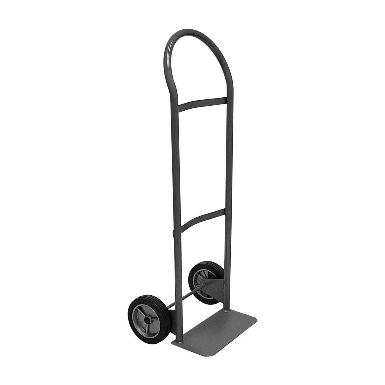 Gleason 30151 Cap Economy Hand Truck With 7 in Puncture Proof Tires, 300 lb, 7 in, Flow Back Handle,