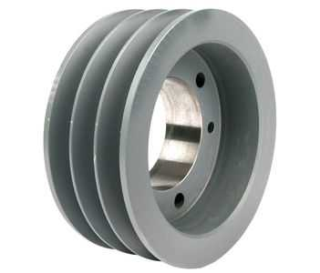 2.65' OD Three Groove Pulley / Sheave for 3V V-Belt (bushing not included) # 3-3V265-JA