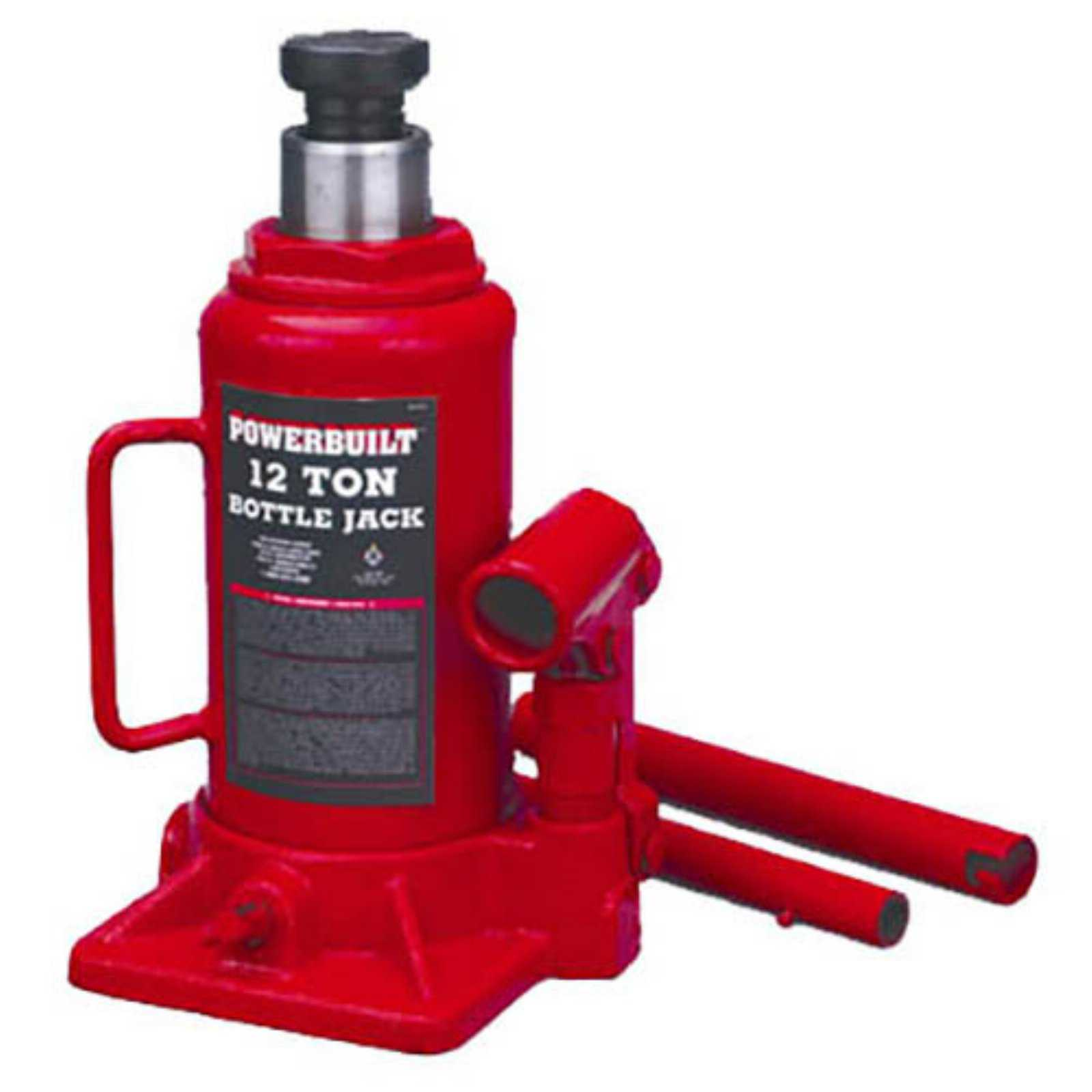 Powerbuilt 12 Ton Bottle Jack