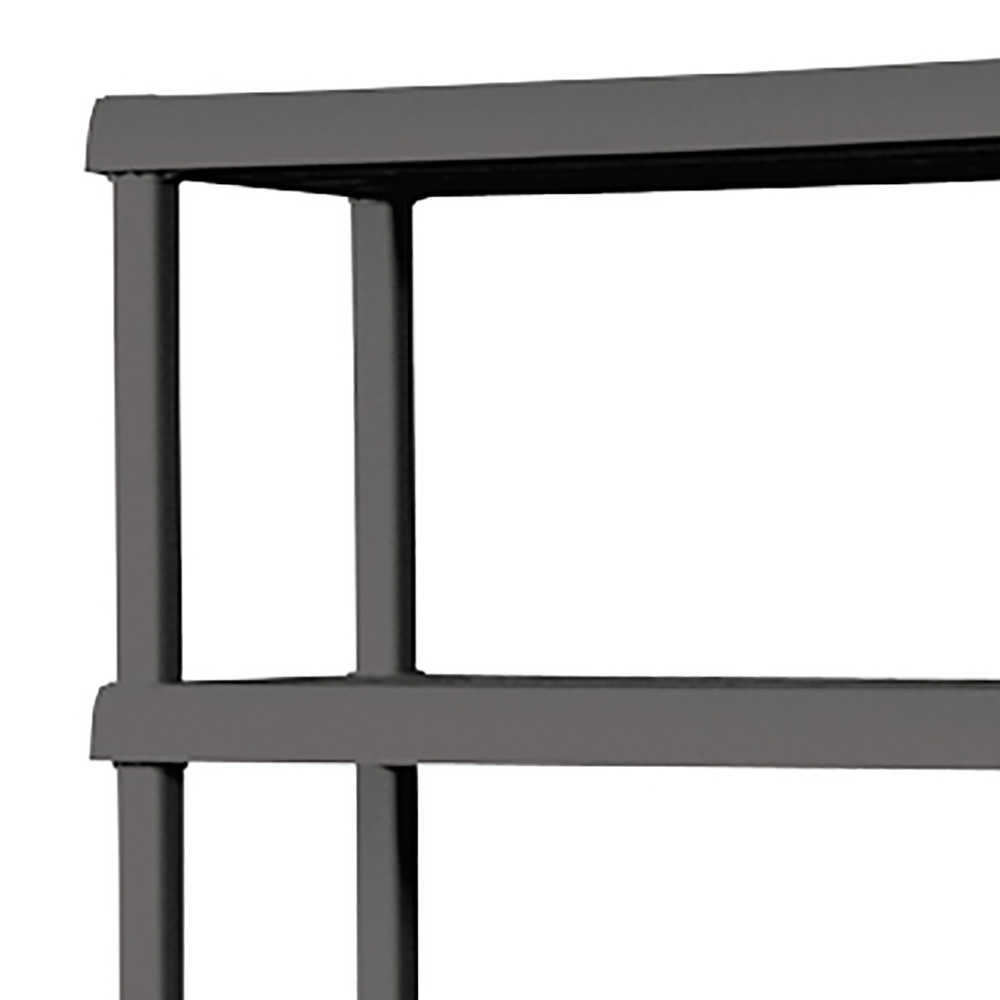 Sterilite 5 Shelf Unit, Flat Gray