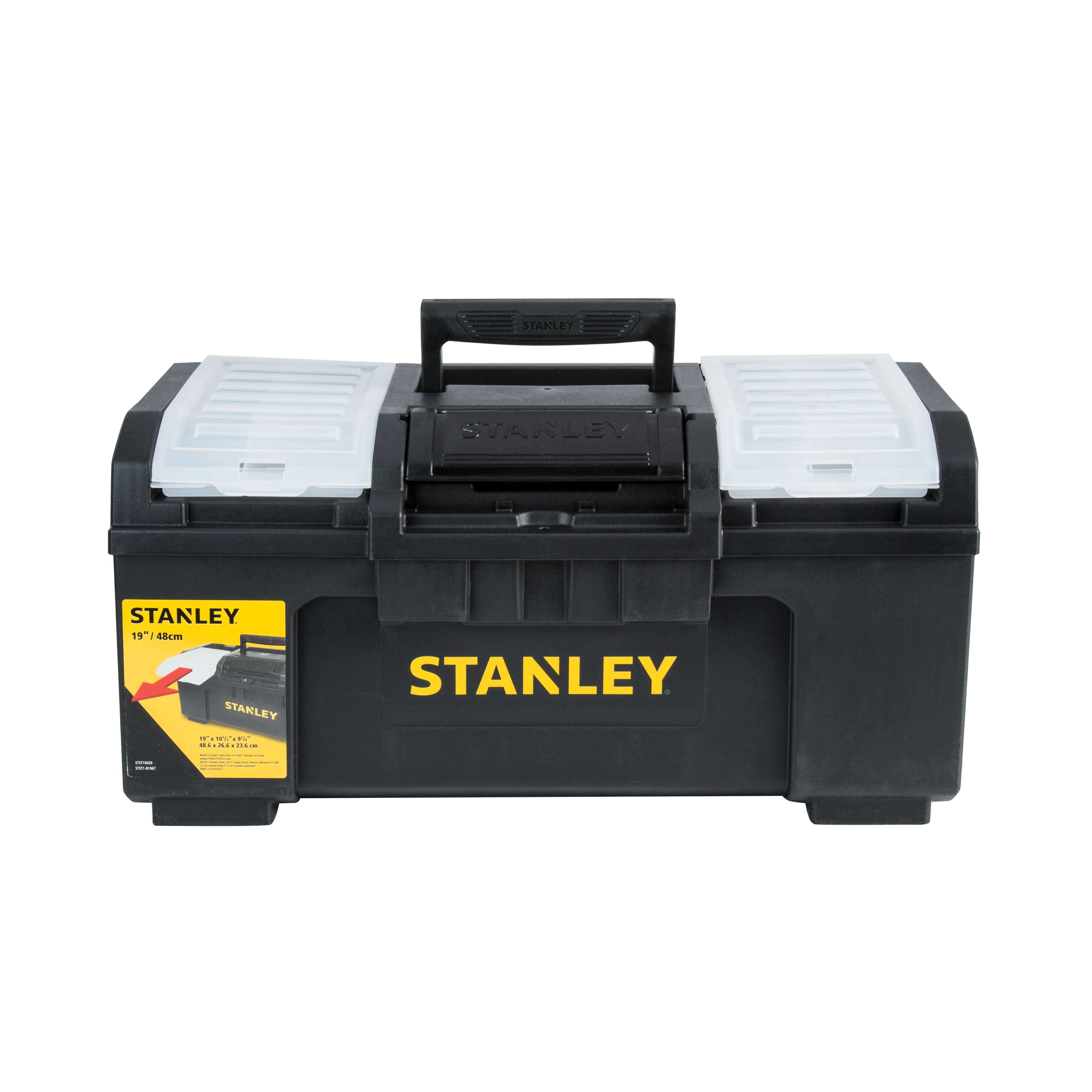 Stanley STST19420 Black 19' 1 Touch Toolbox